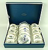 A Royal Worcester Asian porcelain coffee set of