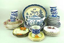 A quantity of Johnson Bros, Wedgwood and Wood &