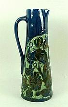 A Lauder Barum pottery jug, late 19th century, of