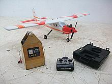 A remote controlled aeroplane, Cessna 177, fully