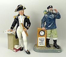 A Royal Doulton figure modelled as 'The Captain',