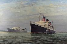 Banks (British, 20th century): The Queen Mary, and