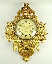 A 20th century cartel clock, Holmia, Stockholm, Sw
