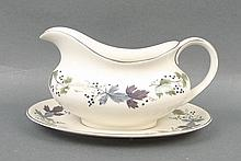 A Royal Doulton porcelain part dinner and tea serv