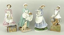 A group of Royal Worcester Upstairs Downstairs por