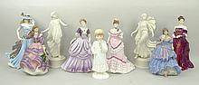 A Royal Worcester porcelain figure modelled as 'Te