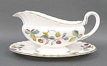 A Royal Worcester porcelain part dinner service de