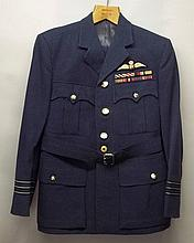 An RAF Wing Commander's service dress uniform, wit