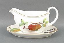 A group of Royal Worcester porcelain tableware dec