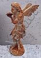 A 1930's style cast iron fairy.