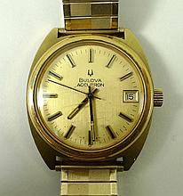 A gentleman's Bulova Accutron watch