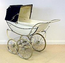 A vintage Royale coach built pram