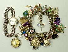 An Edwardian 9ct gold cased lady's wristwatch
