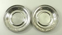 A pair of Austro-Hungarian 950 silver coasters by J C Klinchkosch