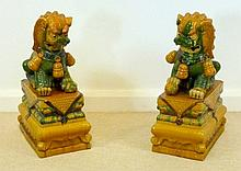A pair of 20th century Chinese Dogs of Fo