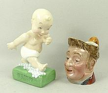 A Royal Doulton Advertising Fairy Figure Baby, limited edition 517/950, boxed with certificate, and