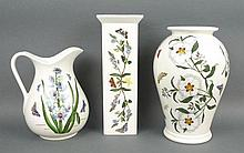 A quantity of Portmeirion Pottery decorated in the 'Botanic Garden' pattern, comprising; water jug,