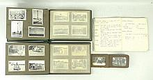 A group of three albums of WWII period photographs taken my Norman Gott RAF, no. 1442937, comprising