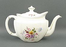 A Royal Crown Derby porcelain part tea service decorated in the 'Derby Posies' pattern, comprising;