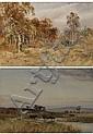 Charles Pigott (1863-1940). Pair of gilt framed, Charles Pigott, Click for value