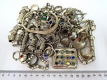 Lot of silver jewelry: