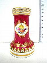 Porcelain quill pen holder, Meissen