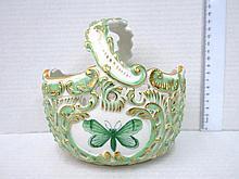 Porcelain basket, by Herend