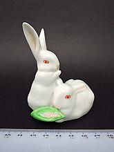 Porcelain figurine by Herend,