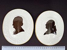 Meissen pair of porcelain plaques
