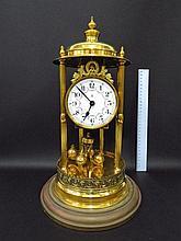 400 day mantel clock, by Gustav Becker