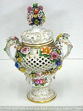 Porcelain vessel, by Sevre,