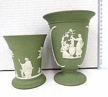 Two Wedgewood vases,