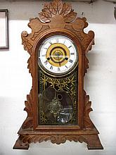 Shelf clock by New Haven Co, USA,
