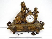 French shelf clock,