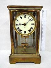 Carriage clock style mantel clock,