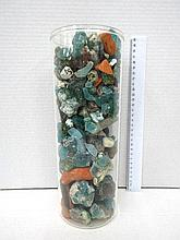 Amount of 3 kg of archeological glass shards (Roman glass)