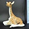 Porcelain giraffe figurine by Lomonosov, Leningrad