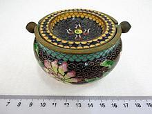 Chinese cloisonne ashtray