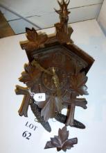 A Blackforest cuckoo clock est: £25-£45 (G2)