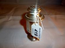 An antique pepper pot est: £50-£70