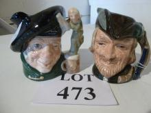 Two Royal Doulton Toby jugs: Tam O'Shanter and Robin Hood est: £40-£60 (O1)