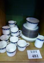 A Royal Worcester part tea service approx 32 pieces (some a/f) est: £40-£60 (F23)