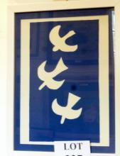 Henri Matisse - Les Oiseaux 1947 lithograph from Verve (39 x 29 cm approx) est: £120-£180