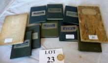 A selection of old maps est: £30-£50 (A3)