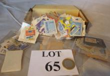 A box containing old matchbox labels est: £15-£25 (N2)
