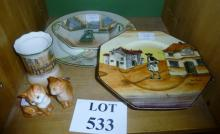 Five assorted pieces of Doulton and Beswich cat est: £25-£45 (F18)