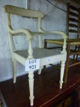 A Regency painted child's chair est: £20-£30