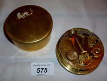 An Army pocket brass sextant Walts & Son Ltd, London est: £50-£80