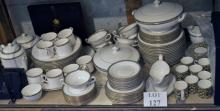 An excellent quality dinner service by Royal Worcester 'Francesca' patter (approximately 106 pieces) condition as new est: £400-£600 (H)