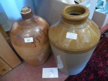 A stoneware bottle/jar stamped 'C Grant Distiller Canterbury; and another jar est: £30-£50 (BB28)